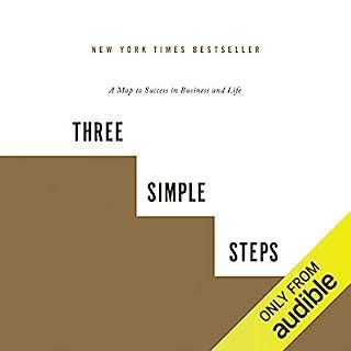 Three Simple Steps audiobook cover art