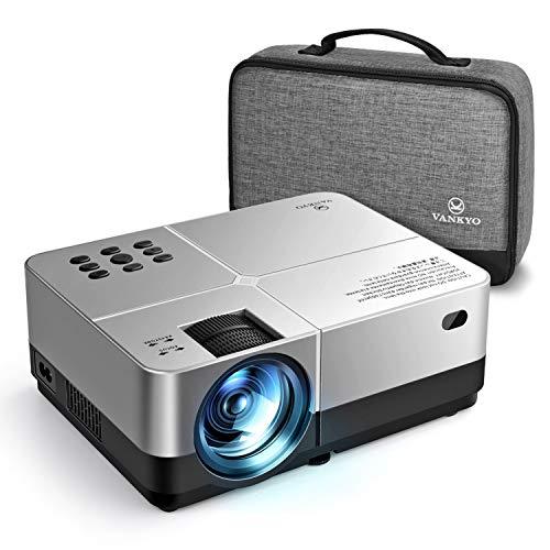 vankyo Mini Vidéoprojecteur Portable 4000 Lux Retroprojecteur Compatible avec TV Box, Chromebook, PC, Ordinateurs Portables, tablettes, Lecteur