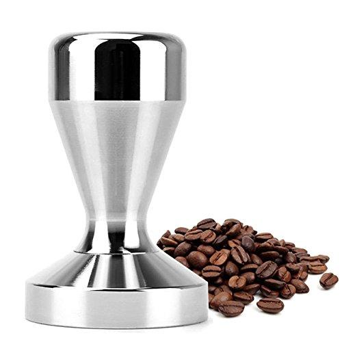 PerriRock Stainless Steel Coffee Tamper Barista Espresso Tamper 51mm Base Coffee Bean Press