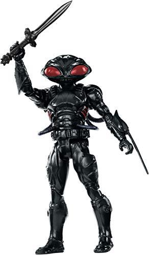 Mattel FWX62 DC Aquaman Black Manta 15 cm Figur, Spielzeug Actionfiguren ab 4 Jahren