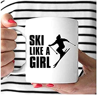 Skiing gifts when life gets complicated birthday christmas gift idea for men women 20oz or 30oz tumbler