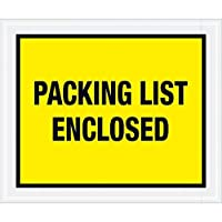 Top Pack SupplyPacking List Enclosed Envelopes 10 x 12 Yellow (Pack of 500) [並行輸入品]
