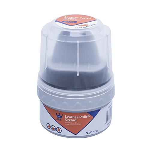 Boylee - Esmalte de piel para botas de piel con cepillo para...