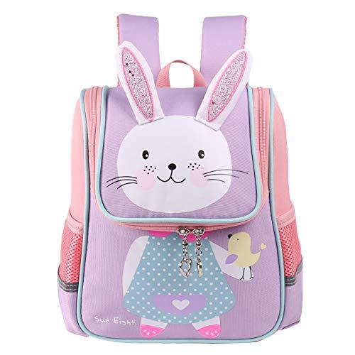 Kinder Rucksack - Jungen Mädchen Schulrucksäcke Kleinkind Schüler Tier Tasche Tagesrucksack für Grundschule Kindergarten/3-7 Jahre