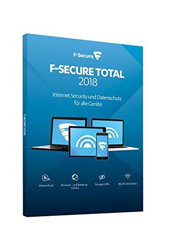 F-Secure Total Security und VPN 2018 - 2 Jahre / 3 Geräte