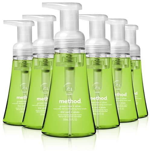 Method Hand Soap, Green Tea + Aloe 6 Pack ONLY $17.94 (reg $30)