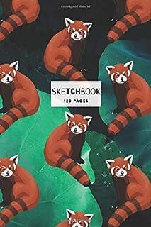 Red Panda Design Sketchbook: 6