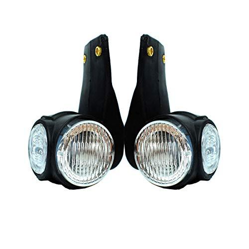 2x 12V / 24V LED Begrenzungsleuchten Umrißleuchte Positionsleuchten LKW PKW Anhänger