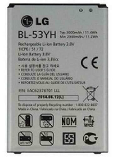 BL-53YH Battery for D850 D851 D852 D855 LS990