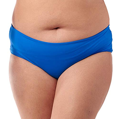 Fused Hawaii Kona Cheeky Bikini Bottom   Ruched Back Detail   Swimsuits for Active Women, Ocean, 2X