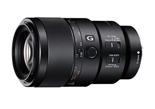 Sony SEL-90M28G Obiettivo Macro a Focale Fissa 90 mm F2.8, Serie...