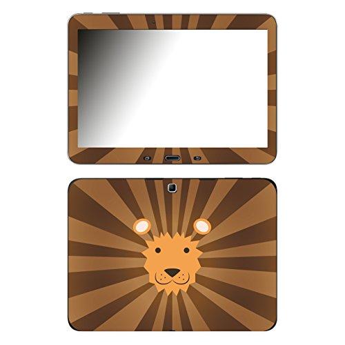 'Disagu SF 1025105859/Design Skin for Samsung Galaxy Tab 4–Lion Face Print Clear