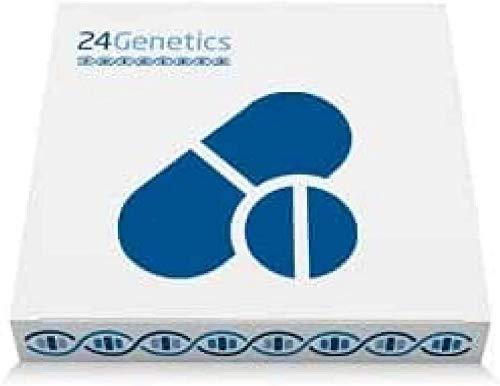 24Genetics - Test de ADN de FARMACOGENÉTICA - Prueba genética de Farmacogenómica - Incluye kit de ADN