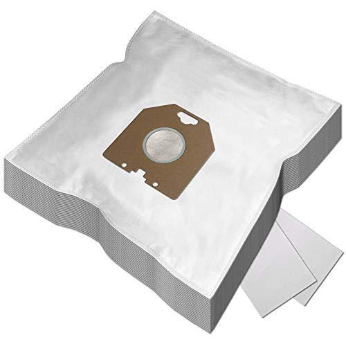 PakTrade Set 20 Staubsaugerbeutel + 2 Filter für Philips HR6300 - HR6800, Marathon, T300 - T800, TC400 - TC999, P700-760