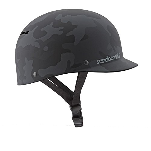 SANDBOX Classic 2.0Low Rider Water Helmet, Small, Camo Nero Opaco