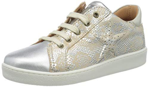 Bisgaard Mädchen Tilde Sneaker, Silber (Silver Snake 2300), 32 EU