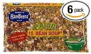 Hambeens Cajun 15 Bean Soup 20oz Bag (Pack of 6)