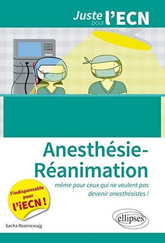 Anesthésie Réanimation ECN