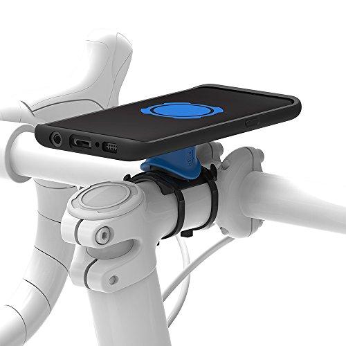 Quad Lock, kit da bicicletta per Samsung Galaxy S8, Nero