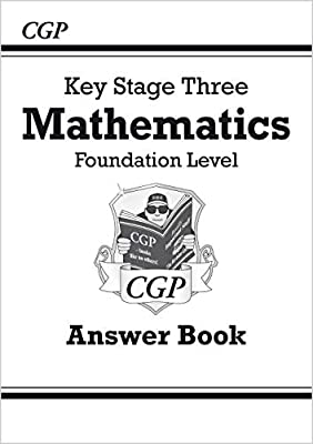 KS3 Maths Answers for Workbook - Foundation (CGP KS3 Maths) from Coordination Group Publications Ltd (CGP)