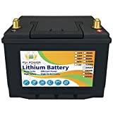 12V 60Ah LiFePO4バッテリー3000~7000ディープサイクルリチウム鉄 大容量充電式 BMS付きリチウム鉄電池 RV、キャンピングカー、マリン、オーバーランド、バン、太陽エネルギー 5年間保証 10A充電器が付属しています
