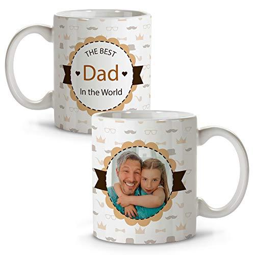 LolaPix Tazas Originales. Regalo Personalizado. Día del Padre. Varios diseños. The Best Dad