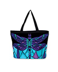 This gift ideas for dragonfly lovers will help them tote around in style.