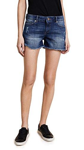 DL1961 Women's Karlie Boyfriend Shorts, Bluegrass, 26