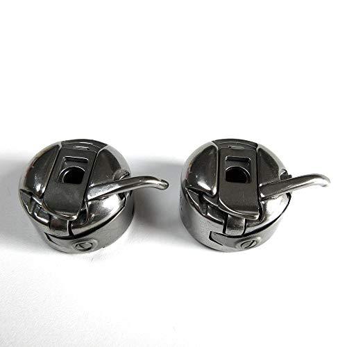 Estuche de bobina #125291 para máquina de coser Singer 15-88, 15K88, 15-90, 15-91, 2 unidades