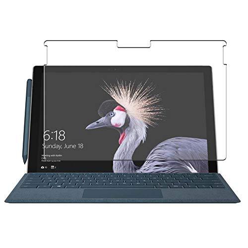 Vaxson 4 Unidades Protector de Pantalla, compatible con Microsoft Surface Pro 5 NEW Surface Pro 2017 12.3' Pro5 [No Vidrio Templado Carcasa Case ] Película Protectora Film Guard