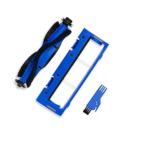 BLUELIRR 1 x Spazzola Principale Rotolamento, 1 x Protezione Spazzola per Onson J10C 2100Pa Robot Vacuum Parts di ricambio, Accessorio J10C (spazzola di pulizia gratuita)