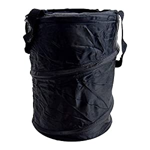 Car Trash Can, Round Pop-Up Basket/Storage Bin – 7″x10, Egg & Berry Gathering, Closet Organizng
