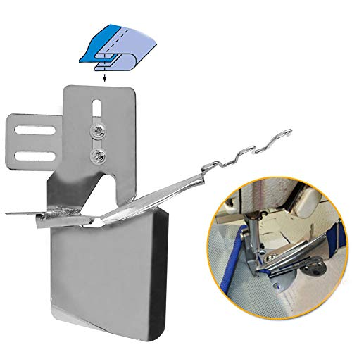 Delamans 60% Double Cylinder Fold Binder Attachment Folder Nastro Binder, per Macchina da Cucire Industriale
