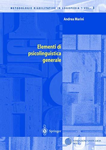 Elementi di psicolinguistica generale