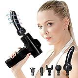Cinco-Heads fascia muscular pistola eléctrica alisador de Choque de la máquina de masaje masajeadores eléctricos...