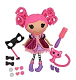 """Lalaloopsy Silly Hair Doll - Confetti Carnivale with Pet Cat, 13"""" Masquerade Ball Party Theme Hair Styling Doll with Pink Hair & 11 Accessories in Reusable Salon Package playset, for Ages 3-103"""