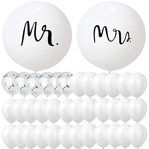 sancuanyi Riesen Hochzeits Ballons, Luftballons Hochzeit, 36