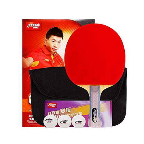 Check Out This HENGTONGWANDA Table Tennis Racket, Horizontal Shot, Double-Sided Anti-Stick arc with ...