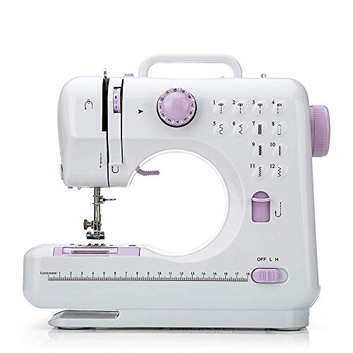 Great Features Of Chooling Sewing Machine (12 Stitches, 2 Speeds, Foot Pedal, LED Sewing Lamp) - Sma...