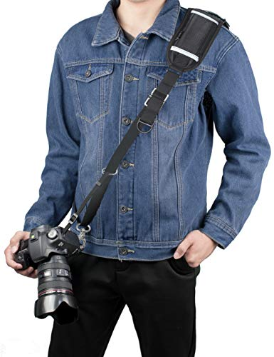 Sugelary Camera Strap, Long Camera Shoulder Neck Sling Strap Quick Release DSLR Strap for Canon Nikon Sony Mirrorless Camera