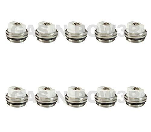 Válvula de purga de aire manual para radiador de 1,27 cm BSP de alta calidad x10