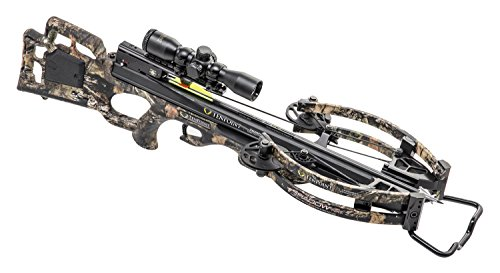 TenPoint Shadow NXT Crossbow Package with Pro-View 2 Scope, Quiver, and Arrows (CB18018-5824), Black