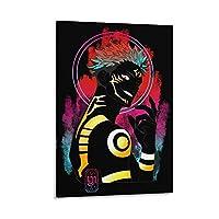 呪術廻戦アニメポスター装飾絵画リビングルーム壁画キャンバスプリントウォールアート写真24×36インチ(60×90cm)