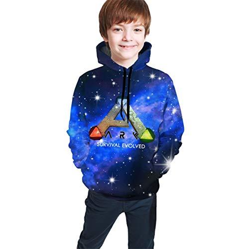 Hidreama ARK Survival Evolved Boys Girls Novelty Galaxy Hoodies Sweatshirts Pullover