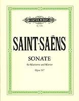 サン・サーンス : ソナタ 変ホ長調 作品167 (クラリネット、ピアノ) ペータース出版