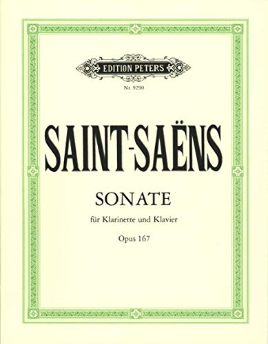 Sonate Opus 167 Clarinette