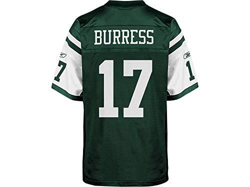 Reebok New York Jets Plaxico Burress NFL Jersey Jets (Green, XL)