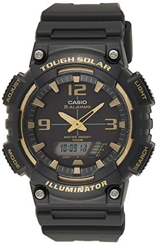 Casio Youth-Combination Analog-Digital Black Dial Men's Watch - AQ-S810W-1A3VDF (AD209)