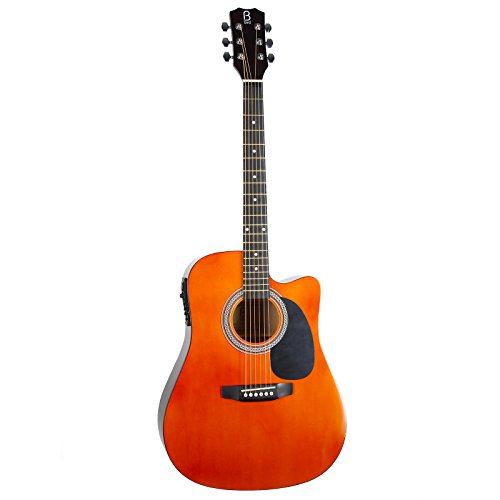 B by Bird B-EFOLK elektrische akoestische gitaar, 4/4 4/4 Natuurlijk.