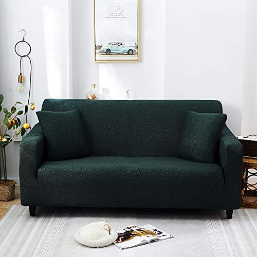 NOBCE Funda de sofá antisuciedad Funda de sofá de Sala de Estar en Forma de L Funda de sofá elástica 90-140CM